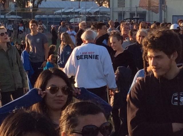 I'm not Bernie Sanders (Adelle Nazarian / Breitbart News)