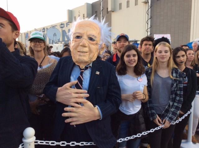 Fake Bernie Sanders (Adelle Nazarian / Breitbart News)
