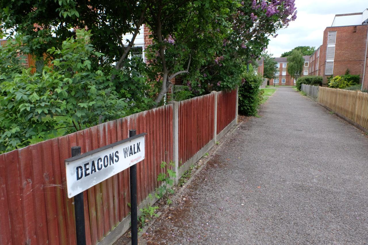Deacons walk where attacker was living a short walk from crime scene