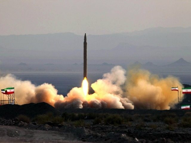 A picture taken on August 20, 2010 shows the test firing at an undisclosed location in Iran of a surface-to-surface Qiam missile, entirely designed and built domestically and powered by liquid fuel according to Defence Minister Ahmad Vahidi, a day before the Islamic republic was due to launch its Russian-built …
