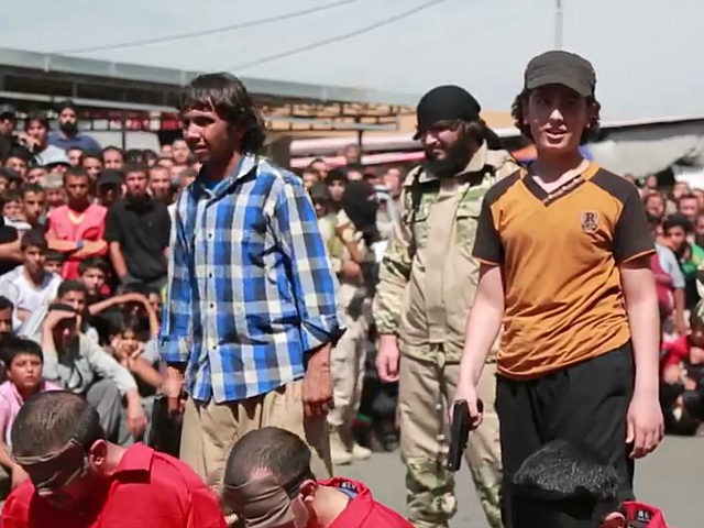 Video: Boys Volunteer to Execute Men Accused of 'Apostasy' by Islamic State