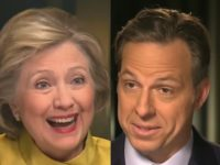 Why Is Jake Tapper Afraid to Ask Hillary Clinton About 'Clinton Cash'?