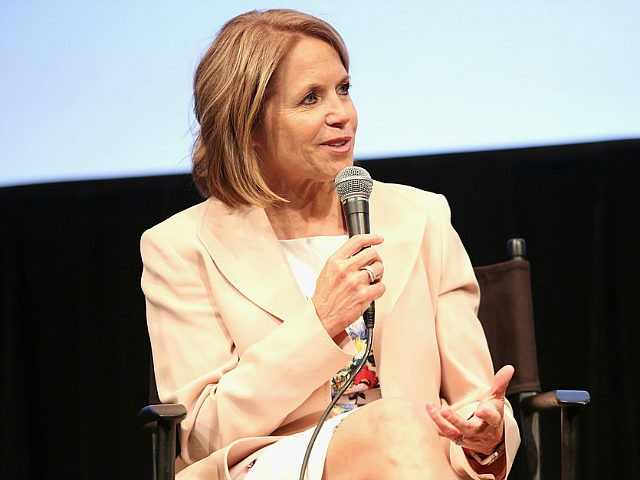 NEW YORK, NY - MAY 12: Katie Couric attends Under the Gun NY Premiere Event With Katie Couric & Stephanie Soechtig on May 12, 2016 in New York City. (Photo by Monica Schipper/Getty Images for EPIX)