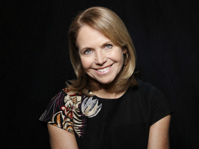 "FILE - In this Jan. 26, 2016 file photo, journalist Katie Couric poses to promote the film, ""Under the Gun"", during the Sundance Film Festival in Park City, Utah. The film will debut on May 15 on Epix. (Photo by Matt Sayles/Invision/AP, File)"