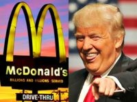 "In this Saturday, Oct. 10, 2015, photo, the sun sets behind a McDonald's in Ebensburg, Pa. McDonald's hopes it has a catchy, new deal that will be as hugely popular as its Dollar Menu. Starting Jan. 4, 2016, the fast-food chain will launch the ""McPick 2"" menu, which will let …"
