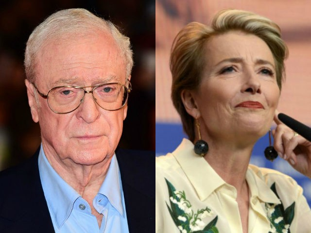 Michael Caine and Emma Thompson