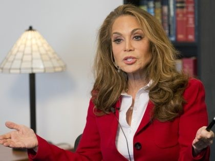 Pamela Geller is interviewed at The Associated Press, Thursday, May 7, 2015 in New York. Geller is one of the nation's most outspoken critics of Islamic extremism, taking the hard-edge view that such extremism sprouts not from fringe elements but the tenets of the religion itself. She was the organizer …