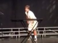 Teen Flipping Water Bottle for Talent Show Becomes Internet Sensation