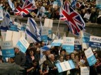 UK israel flags