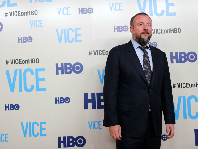 Host and executive producer Shane Smith attends the 'Vice' New York Premiere at Time Warner Center on April 2, 2013 in New York City. (Photo by Jemal Countess/Getty Images)
