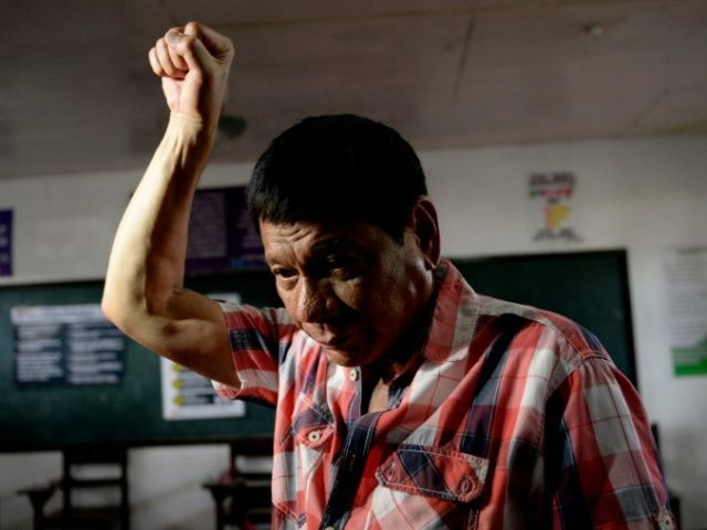 Presidential frontrunner and Davao City Mayor Rodrigo Duterte hypnotised millions with his vows of brutal but quick solutions to the nation's twin plagues of crime and poverty