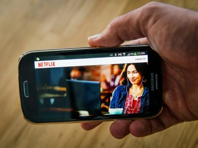 A new default setting in Netflix phone applications will let people stream about three hours of shows or films per gigabyte of data