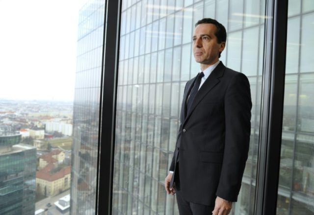 Christian Kern is widely credited with successfully managing the transport of immense numbers of migrants transiting through Austria in 2015