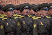 The UN bans North Korea from any use of ballistic missile technology, although it regularly fires short-range missiles into the sea off its east coast