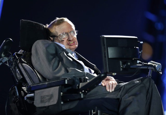 Hawking on climate change: Trump 'could push Earth over the brink'