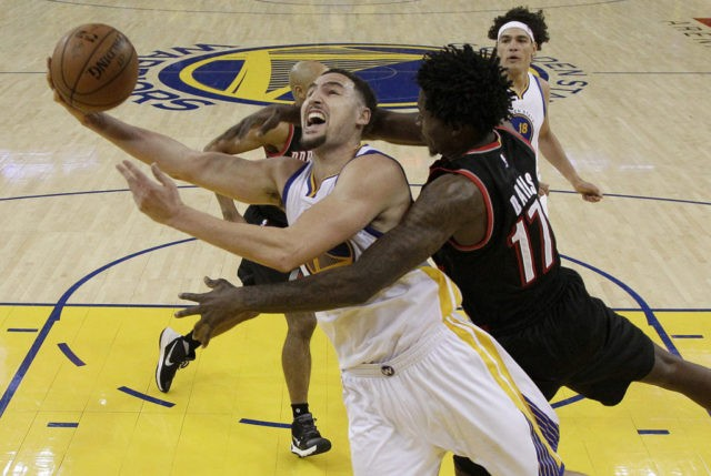 Klay Thompson, Ed Davis