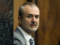 FILE - In this Wednesday, March 16, 2016, file photo, Gawker Media founder Nick Denton arrives in a courtroom in St. Petersburg, Fla. Gawker Media has filed for Chapter 11 bankruptcy protection, about three months after pro wrestler Hulk Hogan won a $140 million lawsuit against the online gossip and news publisher. (AP Photo/Steve Nesius, Pool, File)