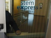 In this photo taken Tuesday, Sept. 8, 2015, Cate Dyer, chief executive officer and founder of StemExpress, poses at the company's office in Placerville, Calif.