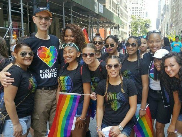 Adam Silver LGBT Parade