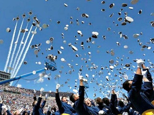 Air Force Academy Graduation, F16 Jet Flyovers AP Brennan Linsley