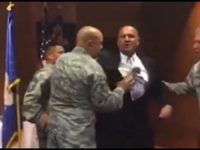 Exclusive Video: Veteran Forcibly Dragged from Air Force Ceremony for Mentioning God