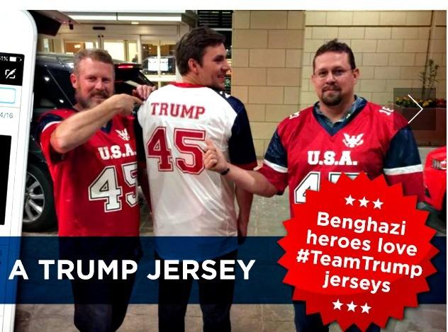Benghazi Heroes in Trump Jerseys