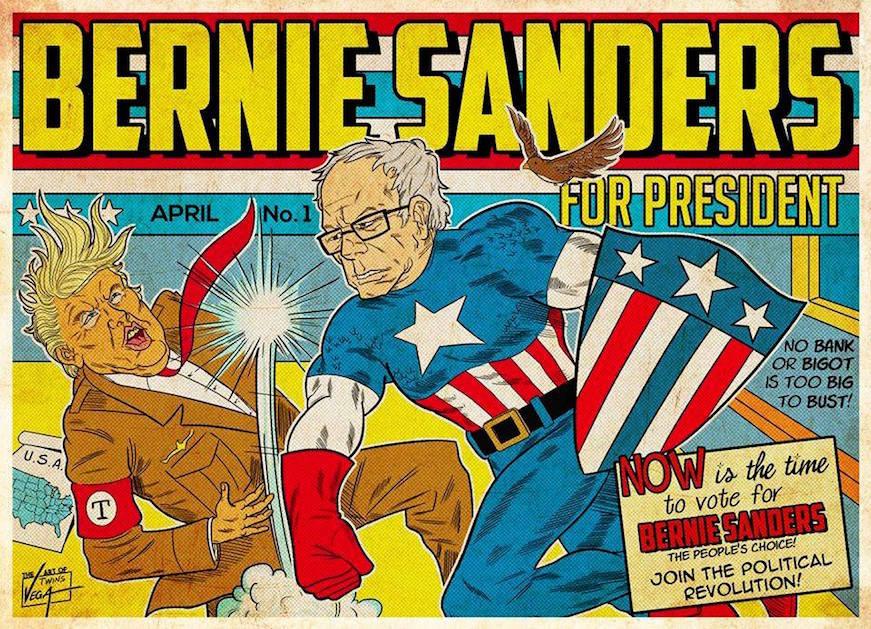 Bernie-Captain-America
