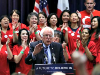 Bernie and Nurses Justin Sullivan, Getty