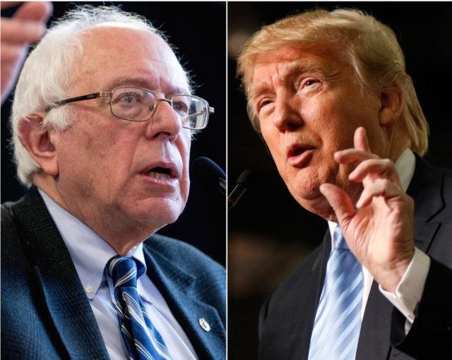 Bernie and Trump AP