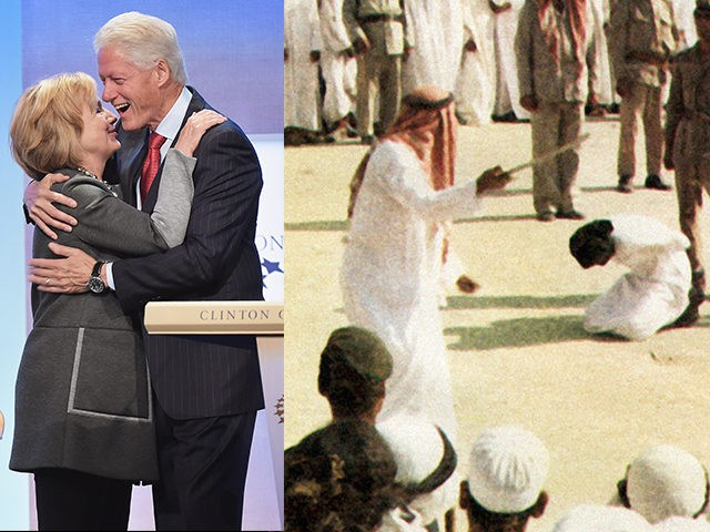 Bill-Clinton-Hillary-Clinton-Saudi-Flogging-Getty