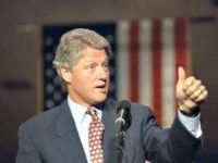 Bill Clinton Thumb Up 1992 AP