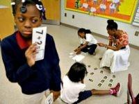 Black school girls David GoldmanAP