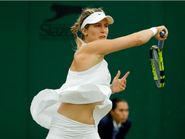 Female tennis players wardrobe malfunction are absolutely