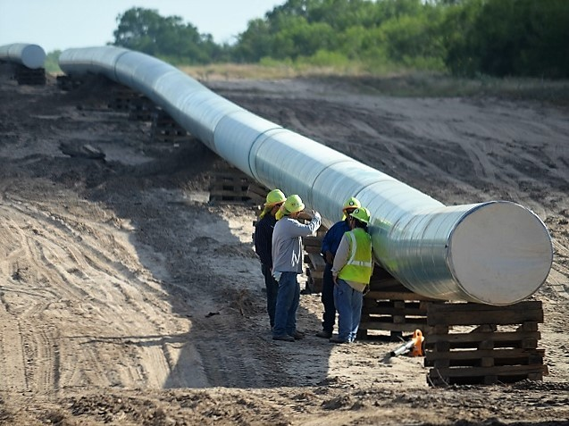 Texas Pipeline Construction