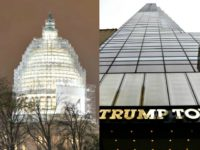 Capitol and Trump Tower AP Photos