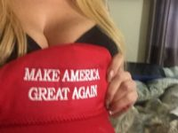 Pro-Hillary Feminist Accuses Trump Supporter of Using Big Boobs to Promote Fascism (VIDEO)