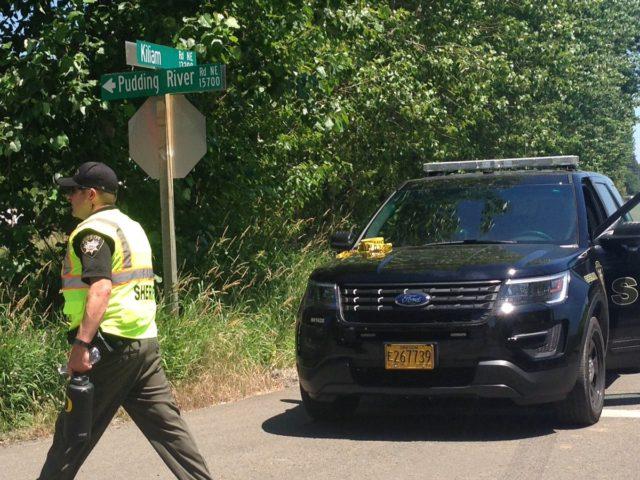 Three dead, suspect caught in farm shooting