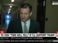 Ted Cruz on Supporting Donald Trump: 'Time Will Tell'