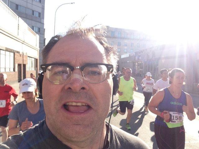 Daniel Flynn Running Race