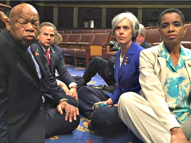 Dem Sit-In NBC News