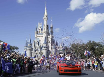 Disney World parade (John Raoux / Associated Press)