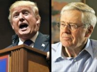 Donald Trump and Charles Koch