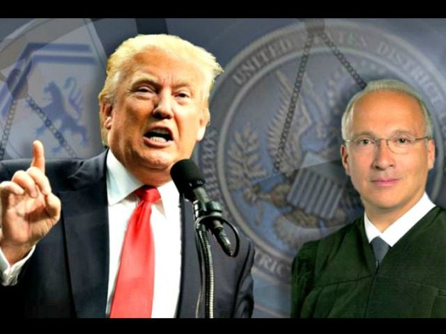 Donald Trump and Judge Gonzalo Curiel AP Photos
