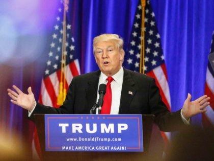 Donald Trump attack speech (Kena Betancur / AFP / Getty)