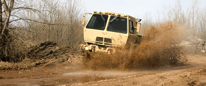 Light Medium Tactical Vehicle - Photo: Oshkosh Defense website.