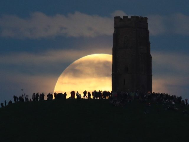 Full moon solstice (Matt Cardy / Getty)