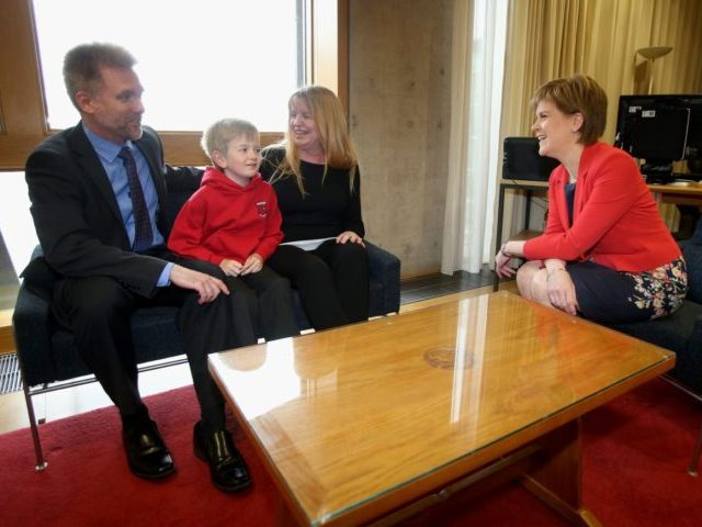 The Brain Family From Australia Meet With The First Minister