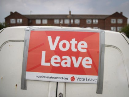 Vote Leave Supporters Campaign In Stonehouse