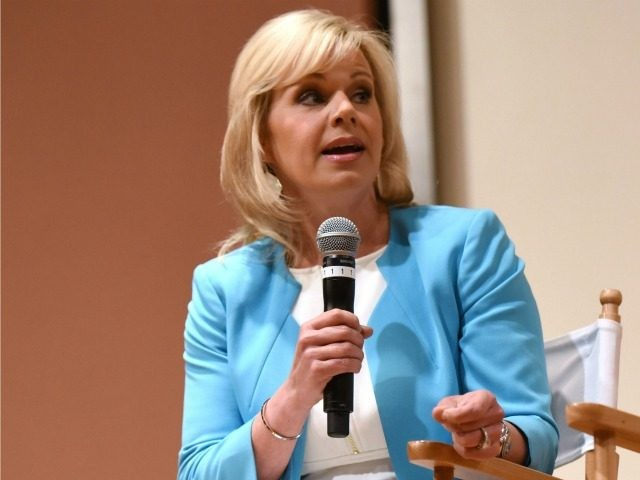 GREENWICH, CT - JUNE 11: Gretchen Carlson speaks Women at the Top: Female Empowerment in Media Panel at the 2016 Greenwich International Film Festival on June 12, 2016 in Greenwich, Connecticut. (Photo by ) *** Local Caption *** Gretchen Carlson