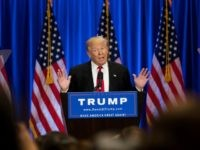 Republican Presidential candidate Donald Trump June 22, 2016 in New York City.
